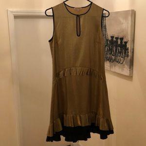 Juicy Couture gold foil dress / top.